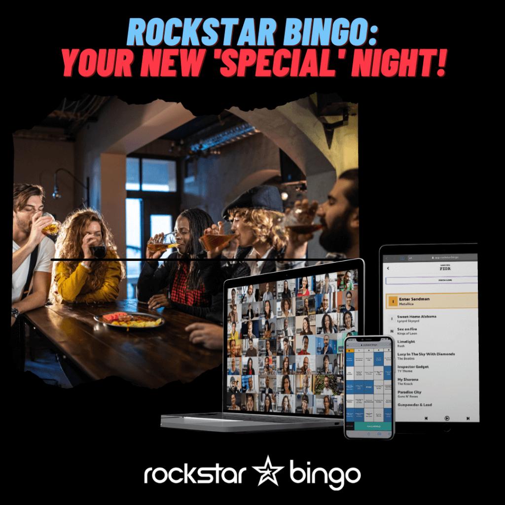 Music Bingo app to host music bingo at your pub, bar or restaurant venue.