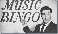 Music Bingo Game Show with Johnny Gilbert.