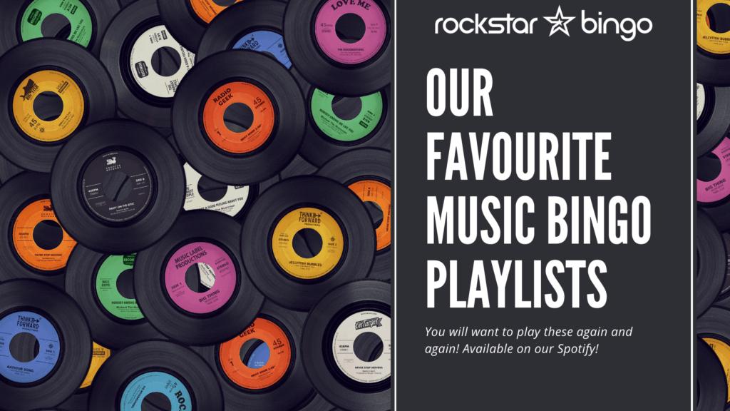 Favourite Music Bingo Playlists on Spotify