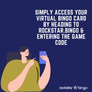How to play Music Bingo with Rockstar Bingo. Access your virtual music bingo card.