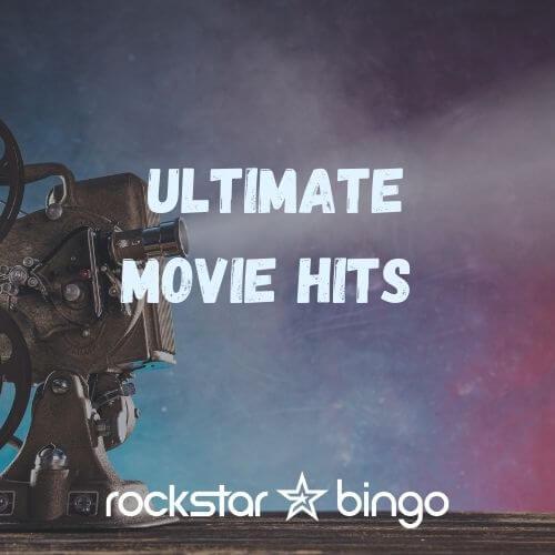 Best Movie and Film Music Bingo Songs Playlist by Rockstar Bingo