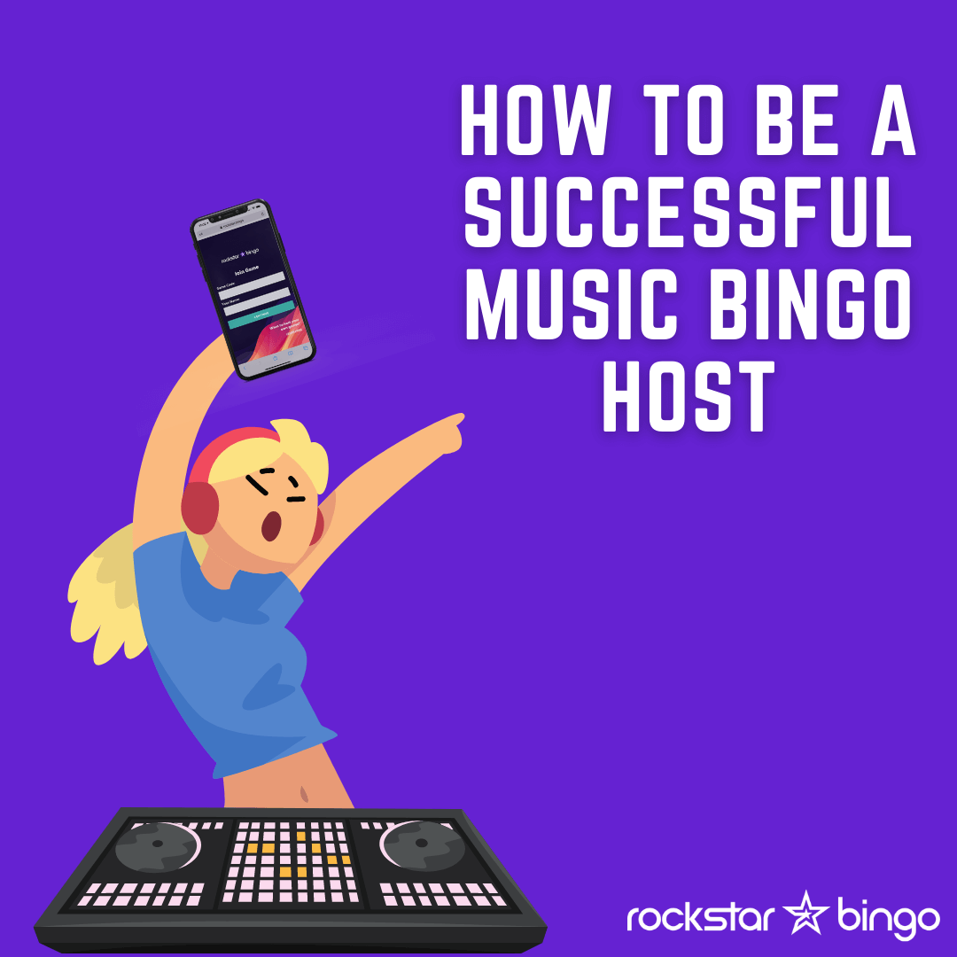 How to host music bingo