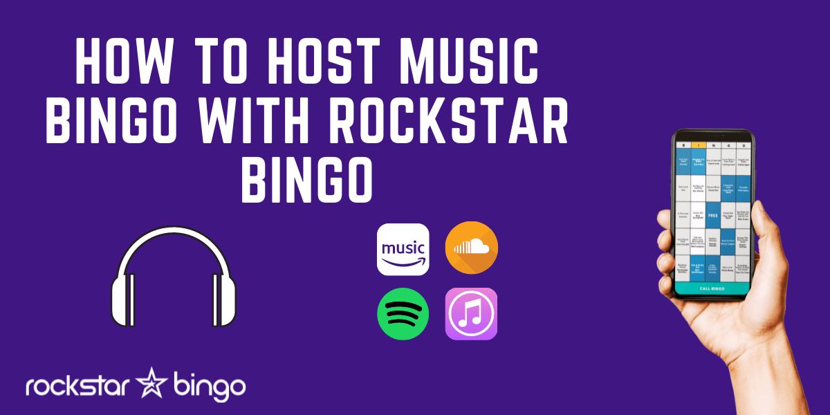 How to host music bingo with Rockstar Bingo