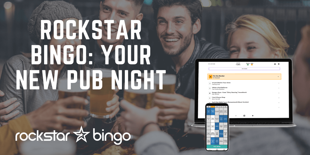 Host music bingo at your pub night, the trendy trivia game made digital.