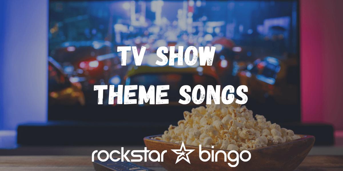 TV Show Music Bingo Playlist