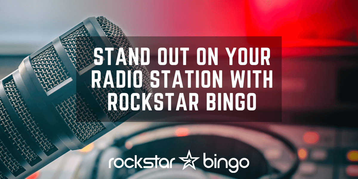 Stand out with Radio entertainment by hosting Rockstar Bingo.