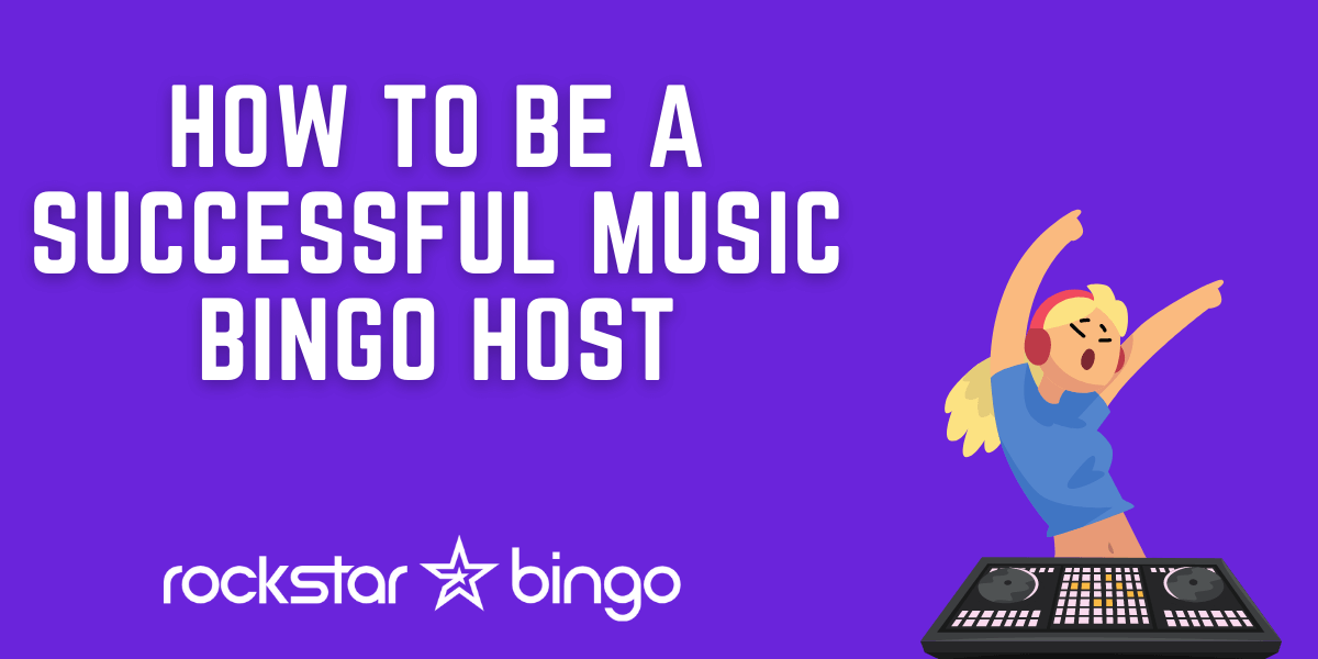 How to be a successful music bingo host.