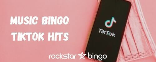 The trendy songs of TikTok in a music bingo playlist. Great music trivia night.