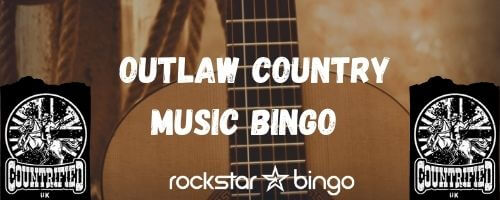 Country Music Bingo playlist specially designed by CountrifiedUK Podcast!