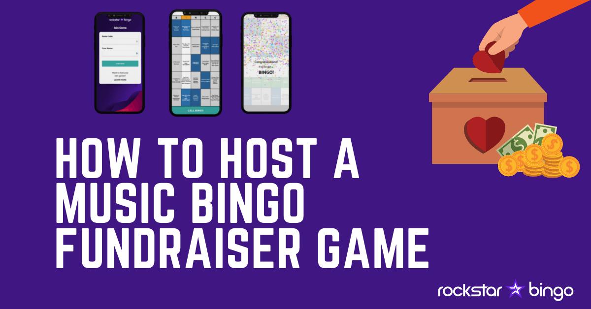 How to host a music bingo fundraiser event