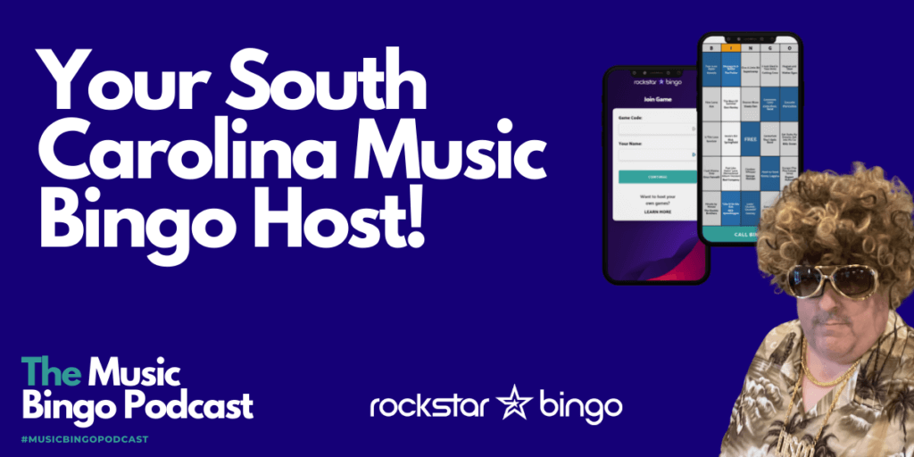 Tim Wood talks about being a music bingo host in South Carolina and his experience using the Rockstar Bingo music bingo app.
